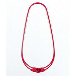 オギタへムト AXFxBelgard シリコンネックレス(全長約54cm/レッド) 226905722 226905722