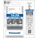 Panasonic(パナソニック) USB入出力付充電器 B