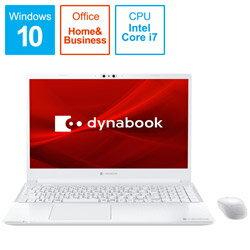 パソコン, ノートPC dynabook() dynabook C7 P1C7PPBW 15.6 intel Core i7 HDD1TB SSD256GB 8GB 202011 P1C7PPBW