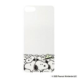 HAMEE [iPhone SE 2020/8/7専用]PEANUTS/ピーナッツ iFace Reflection専用インナーシート 41-923047 ビーグル大集合