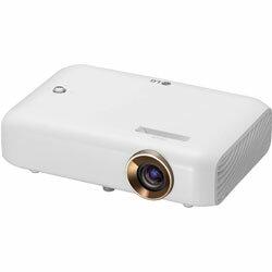 LG(エルジー) ポータブルプロジェクター Cine Beam ホワイト PH510PG PH510PG