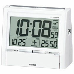 SEIKO 電波目覚まし時計 「トークライナー」 DA206W DA206W