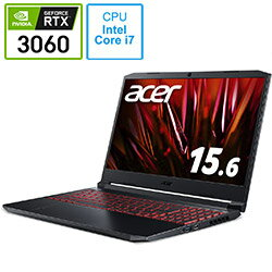 パソコン, ノートPC Acer() AN515-57-A76Y6 Nitro 5 15.6 intel Core i7 16GB SSD512GB 20219 AN51557A76Y6