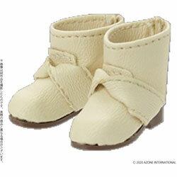 アゾンインターナショナル ピコニーモ用ウェア 1/12 ピコD リボンブーツ オフホワイト ドールウェア ピコDリボンブーツオフホワイト