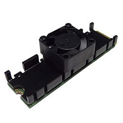 長尾製作所 ファン付M.2 SSD用 ヒートシンク SSM2SHS03