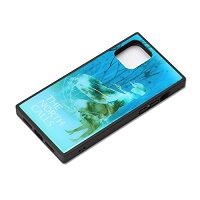 【ディズニー】iPhone11Pro用ガラスハイブリッドケース[エルサ]