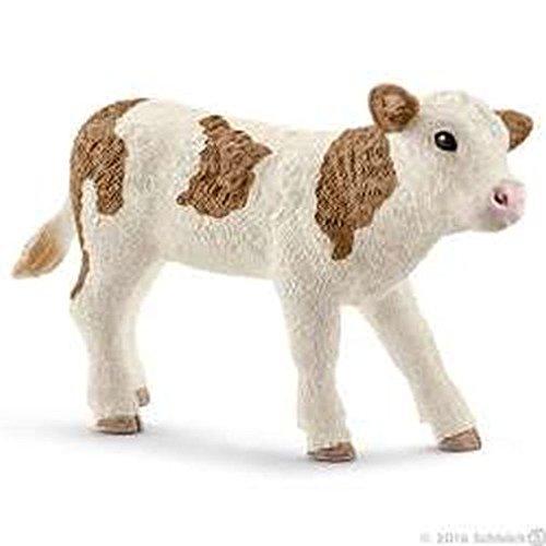 產品詳細資料,日本Yahoo代標 日本代購 日本批發-ibuy99 シュライヒ(Schleich) シンメンタール牛(仔) Simmental calf FARM W…