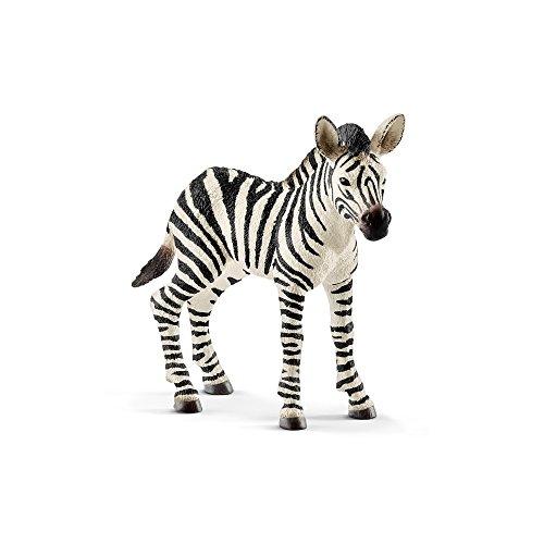 シュライヒ Schleich シマウマ 仔 Zebra foal Wild Life