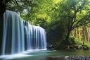 癒しの水簾 熊本県鍋ヶ滝 ジグソーパズル 日本の風景 1000ピース 50×75cm 10-1349