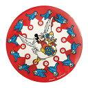 ディズニー 缶バッジ カンバッジ ミッキーマウス バード ノスタルジカ apds3892n