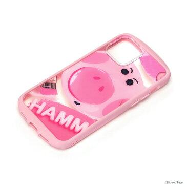 ディズニー/ピクサー iPhone 12 mini用 5.4インチ ガラスタフケース ハム 2020 PG-DGT20F07TOY