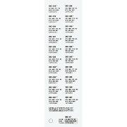 DICカラーガイド配合表