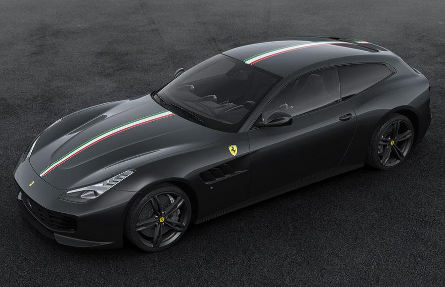 Amalgam Collection アマルガム・コレクション 1:18 フェラーリ 跳ね馬誕生70周年記念 限定モデルカー64. The Celebration Ferrari inspired by 2008 Ferrari Scuderia Spider 16M in grey