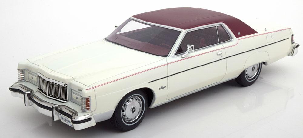BOS 1:18 1976年モデル マーキュリー マーキー1976 Mercury Marquis 2-Door Hardtop Coupe 1/18 BOS Models