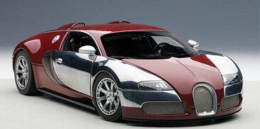 AUTOart 1/18 2009年モデル ブガッティ ヴェイロン L'エディション サントネール イタリアンレッド 2009 Bugatti Veyron L'Edition Centenaire 1/18 by AUTOart