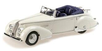 Minichamps 1:18 1936年模型藍旗亞成本經濟部智慧財產局 233 柯爾特白藍旗亞阿斯經濟部智慧財產局 233 Corto 1936 年 1:18 Minichamps