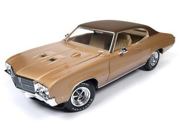 Autoworld 1:18 1970年モデル ビュイック スカイラーク GS ゴールド1970 Buick Skylark GS Gold Hemmings Muscle Machines Limited Edition to 1002pc 1/18 Diecast Model Car by Autoworld NEW