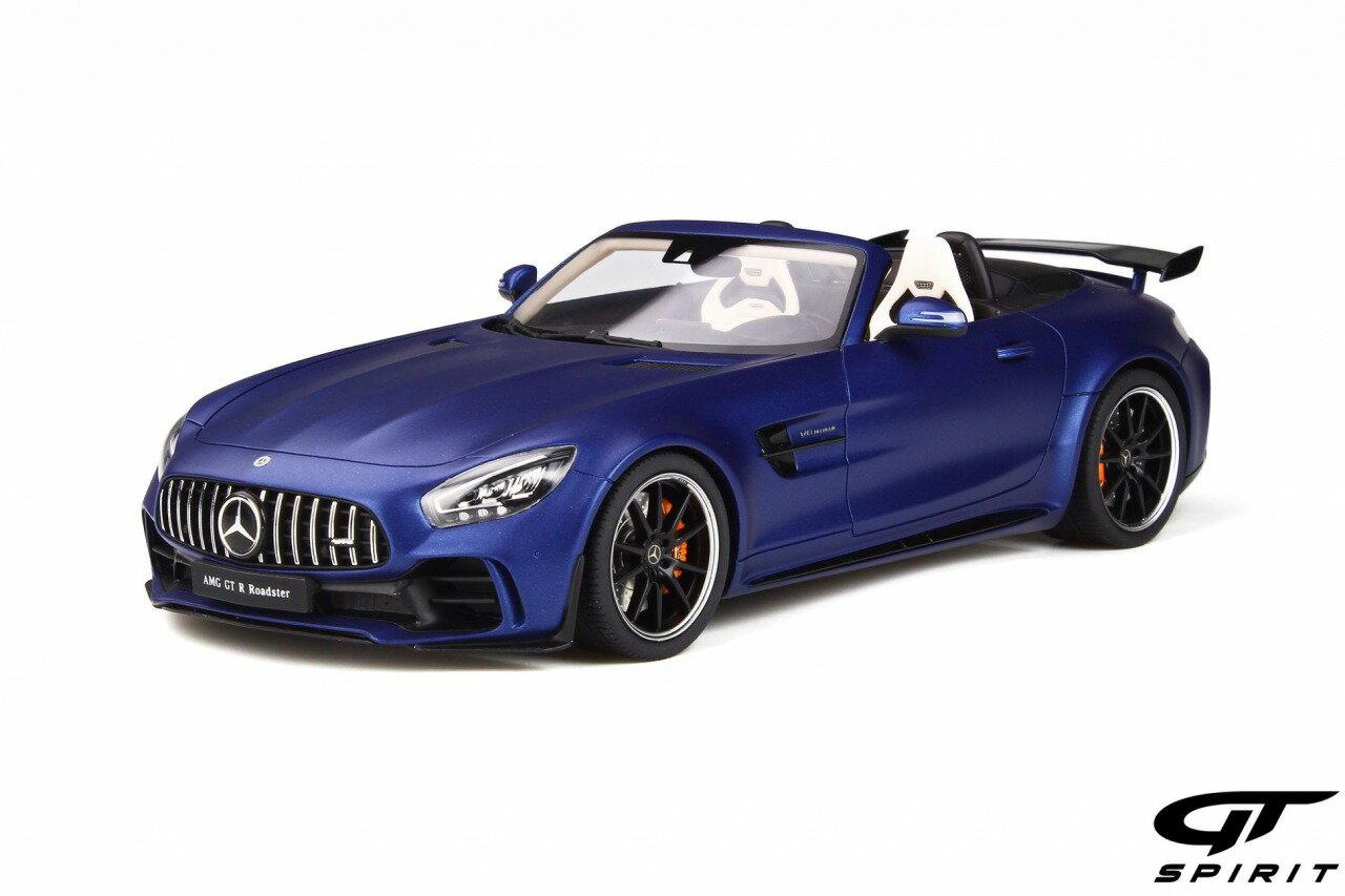 車, ミニカー・トイカー GT Spirit 118 2018 AMG GT R Roadster 2018 Mercedes Benz AMG GT R Roadster Resin Series, designo brilliant blue magno