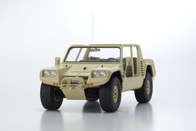 車, ミニカー・トイカー Kyosho 118 1977 LAMBORGHINI - CHEETAH 1977 1:18 khaki by Kyosho