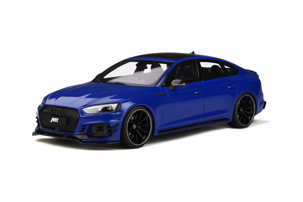 車, ミニカー・トイカー GT Spirit 118 2019 ABT RS5 R 2019 ABT RS5 R Sportback 1:18 nogaro blue by GT Spirit