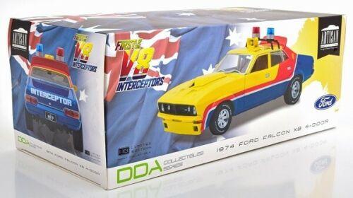 車, ミニカー・トイカー Greenlight 118 1979Mad Max1974 V8 Interceptors First of the V8 Interceptors (1979) 1974 Ford Falcon XB 4-Door Sedan M.F.P. in Yellow 1:18 Greenlight