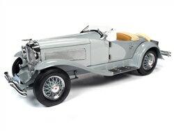 車, ミニカー・トイカー Autoworld 118 1935 SSJ 1935 Duesenberg SSJ Straight-8 Speedster Light Gray and Dark Gray 118 Diecast Model Car by Autoworld