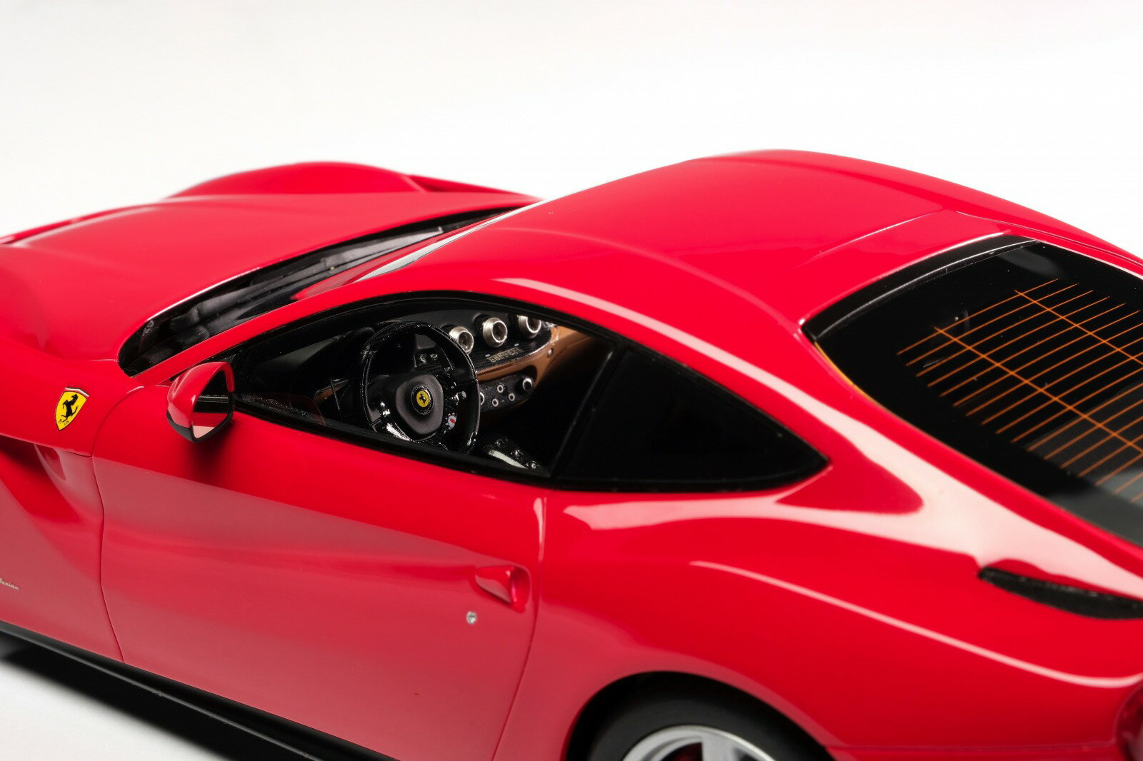 Amalgam Collection 1:18スケール レジンモデル 2012年モデル フェラーリ F12 Berlinetta Rosso Corsa レッド2012 Ferrari F12 Berlinetta 1/18 Rosso Corsa red by Amalgam Collection