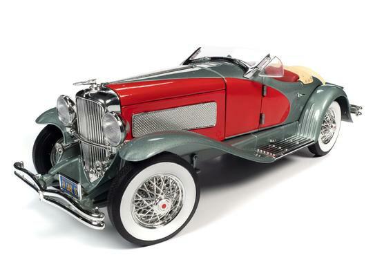 車, ミニカー・トイカー Autoworld 118 1935 DUESENBERG SSJ (RED AND SILVER)