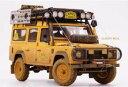 Almost Real オルモストリアル 1/18 ミニカー ダイキャストモデル 1998年キャメルトロフィ ランドローバー デフェンダー 110 Dirty Version1998 Land Rover Defender 110 Camel Trophy Dirty Version 1:18 Almost Real
