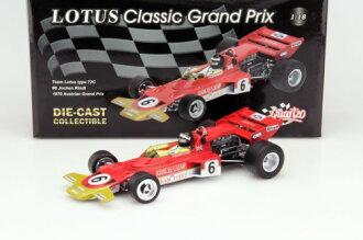 karutsuo 1:18 1970年蓮花72C J.Rindt J. Rindt Lotus Typ 72C Formula 1 1970 1:18 Quartzo