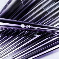 DUcareドゥケア化粧筆メイクブラシセット17本セットPBTを使用大人カラーの「パープル」2018年春夏の流行色