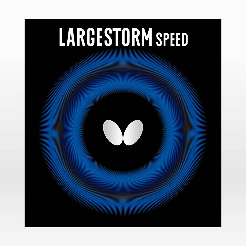 バタフライ(Butterfly) 卓球 ラバー ラージストーム スピード ラージソフト 00400