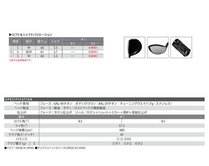 SRIXON(スリクソン)Z945ドライバーカスタムモデルカーボンシャフト