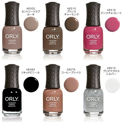 ORLY(オーリー)『NAIL LACQUER mini(48416 ピンクチョコレート)』