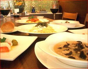 イタリア料理ディナーセット