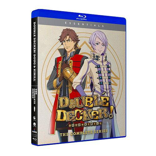 DOUBLE DECKER! ダグ&キリル Essentials 北米版ブルーレイ 全13話+OVA全3話収録 ダブルデッカー BD画像