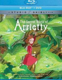 借りぐらしのアリエッティ ニューパッケージ版 北米版DVD+ブルーレイ 日本語・英語・フランス語に切り替え可能! スタジオジブリ BD