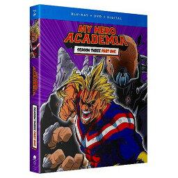 僕のヒーローアカデミア 第3期 Part1 通常版 北米版DVD+ブルーレイ 39〜50話収録 BD