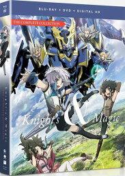 ナイツ&マジック 北米版DVD+ブルーレイ 全13話収録 BD