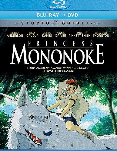 在庫あり もののけ姫ニューパッケージ版北米版DVD+ブルーレイ日本語・英語・フランス語に切り替え  スタジオジブリBD
