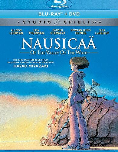 在庫あり 風の谷のナウシカニューパッケージ版北米版DVD+ブルーレイ日本語・英語・フランス語に切り替え  スタジオジブリBD