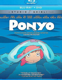 崖の上のポニョ ニューパッケージ版 北米版DVD+ブルーレイ 日本語・英語・フランス語に切り替え可能! スタジオジブリ BD