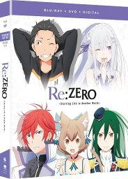 Re:ゼロから始める異世界生活 第1期 Part2 通常版 北米版DVD+ブルーレイ 13〜25話収録 BD