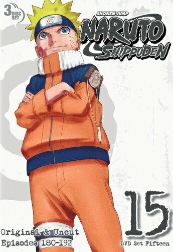 NARUTO ナルト 疾風伝 15巻■北米版DVD■182〜192話収録