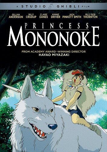 もののけ姫ニューパッケージ版北米版DVD日本語・英語・フランス語に切り替え  スタジオジブリ