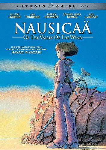 風の谷のナウシカニューパッケージ版北米版DVD日本語・英語・フランス語に切り替え  スタジオジブリ