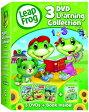 【在庫あり】リープフロッグ Leap Frog DVD3枚+ブックセット■北米版DVD■3DVD Learning Collection フォニックス入門編としてもお勧めです 知育