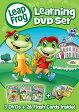 【在庫あり】リープフロッグ Leap Frog DVD3枚+フラッシュカード26枚セット■北米版DVD■Learning DVD set フォニックス入門編としてもお勧めです 知育