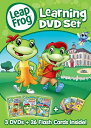 【在庫あり】リープフロッグ Leap Frog DVD3枚+フラッシュカードセット26枚入り■北米版DVD■Learning DVD set フォニックス入門編としてもお勧めです 知育
