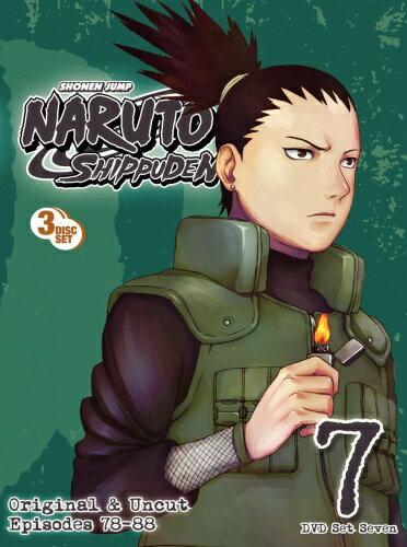 NARUTO ナルト 疾風伝 7巻■北米版DVD■78〜88話収録